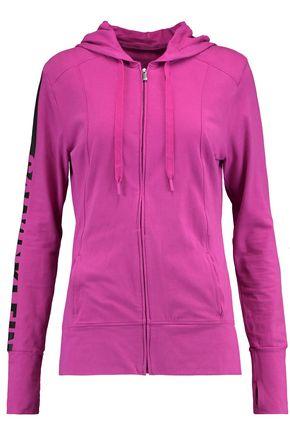 CALVIN KLEIN UNDERWEAR Stretch-cotton jersey hooded top