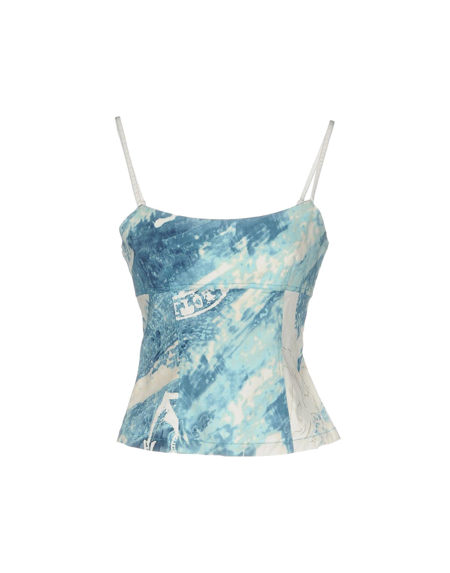 BLU BYBLOS Топ без рукавов платье для девочки bj8673 разноцветный byblos