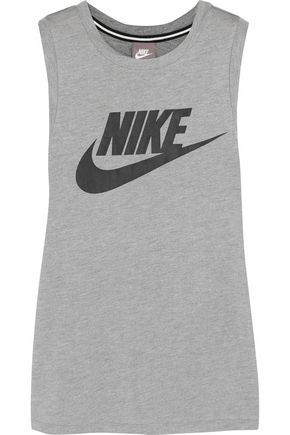NIKE Printed stretch-jersey tank
