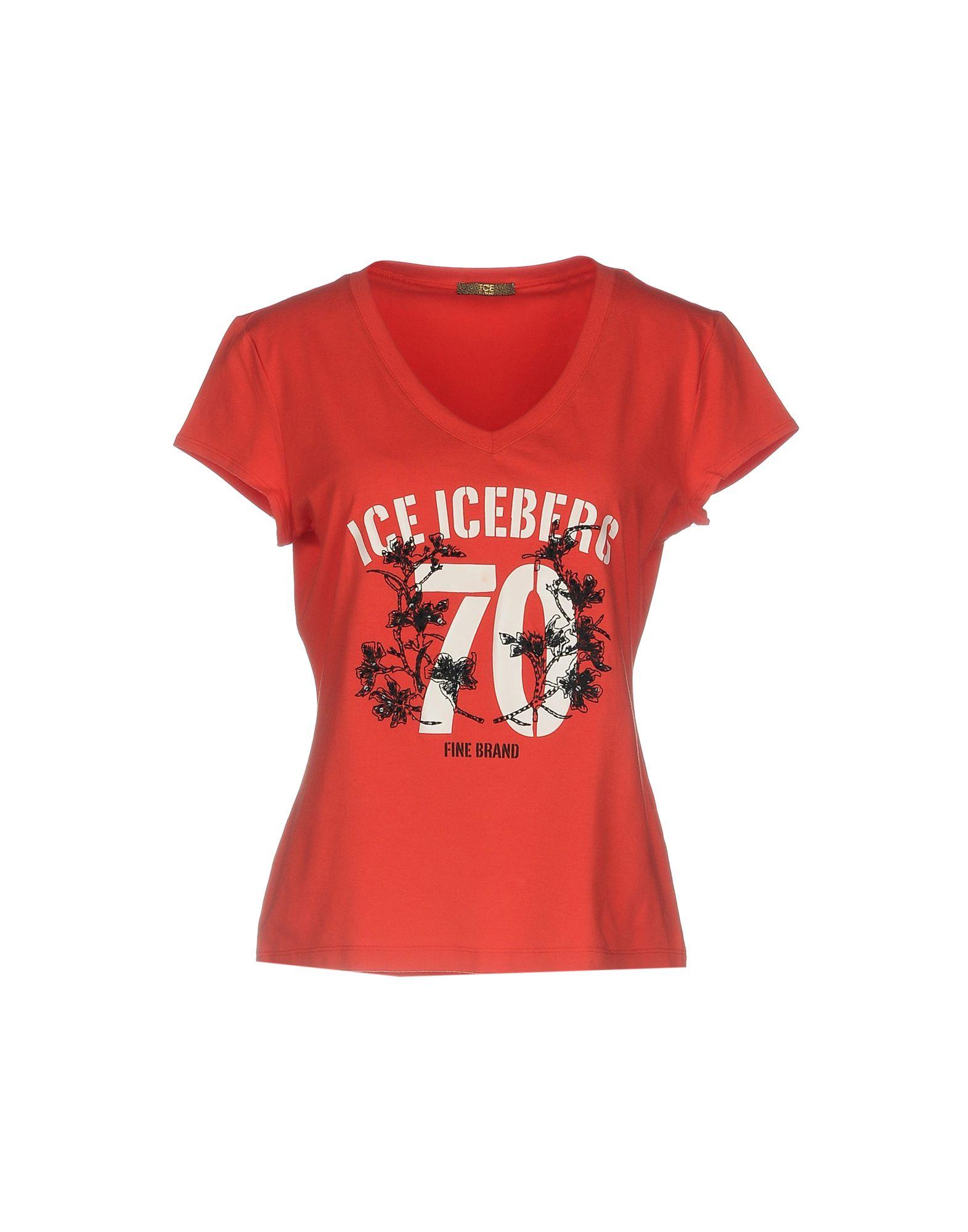 ICE ICEBERG Футболка ice iceberg футболка