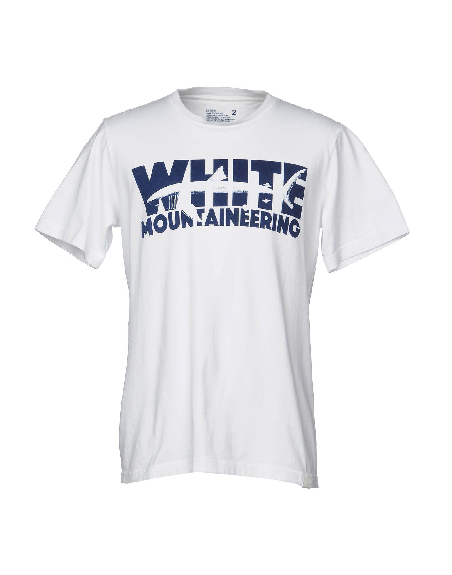 WHITE MOUNTAINEERING Футболка white mountaineering x white mountaineering grayling crew neck charcoal