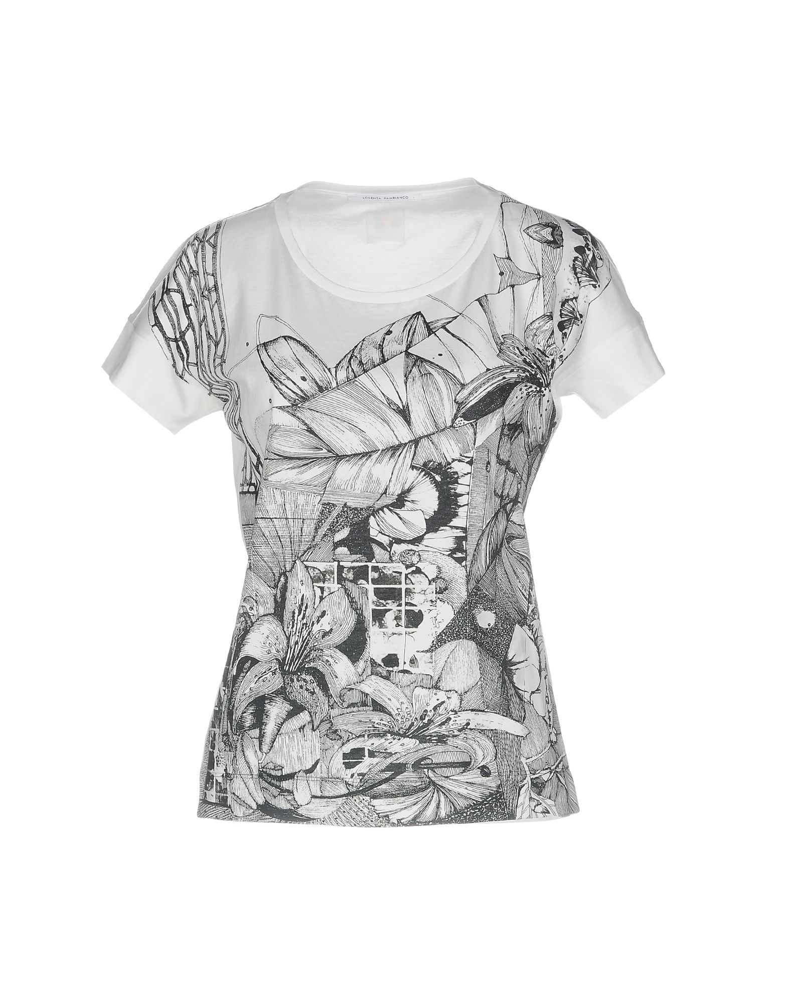 LORENZA PAMBIANCO T-Shirt in White