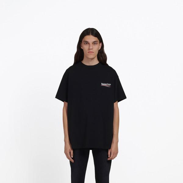 Tee-Shirt à logo Balenciaga