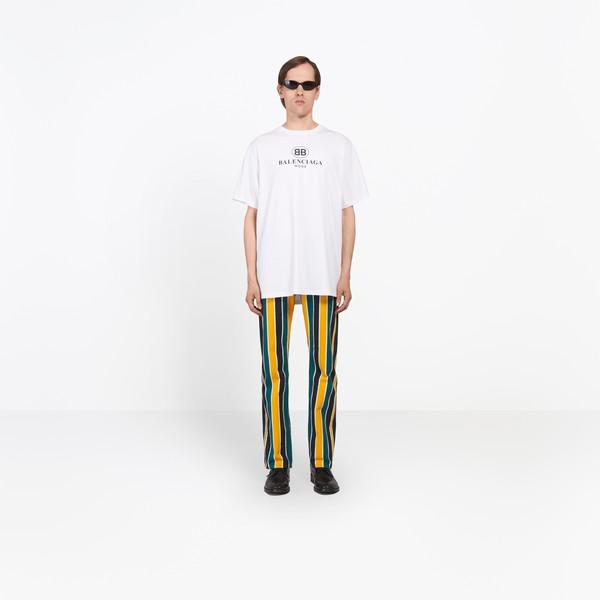 balenciaga white t shirt