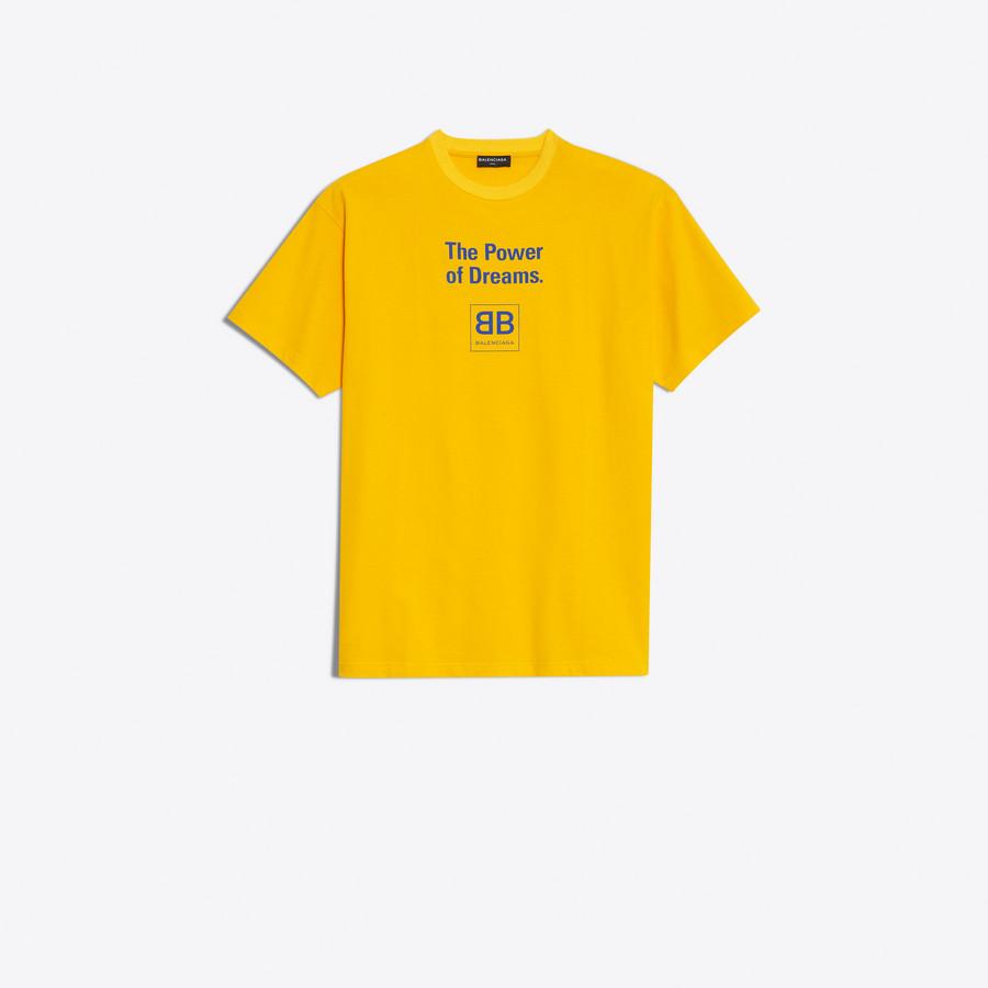 balenciaga t shirt yellow