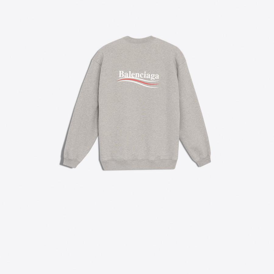 BALENCIAGA Balenciaga Print Sweater Top U d