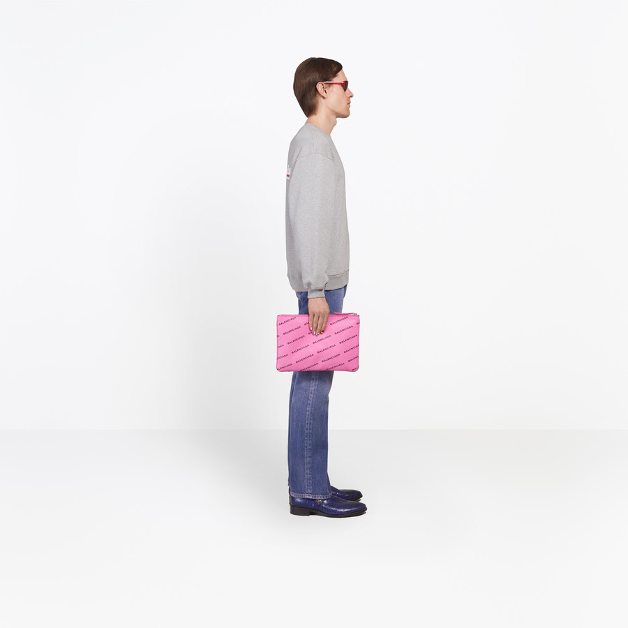 BALENCIAGA Balenciaga Print Sweater Top U i