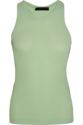 LAAIN Honeycomb-knit stretch-jersey tank
