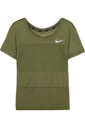 NIKE Paneled Dri-FIT stretch-jersey T-shirt