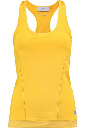 ADIDAS by STELLA McCARTNEY Paneled stretch-neoprene tank