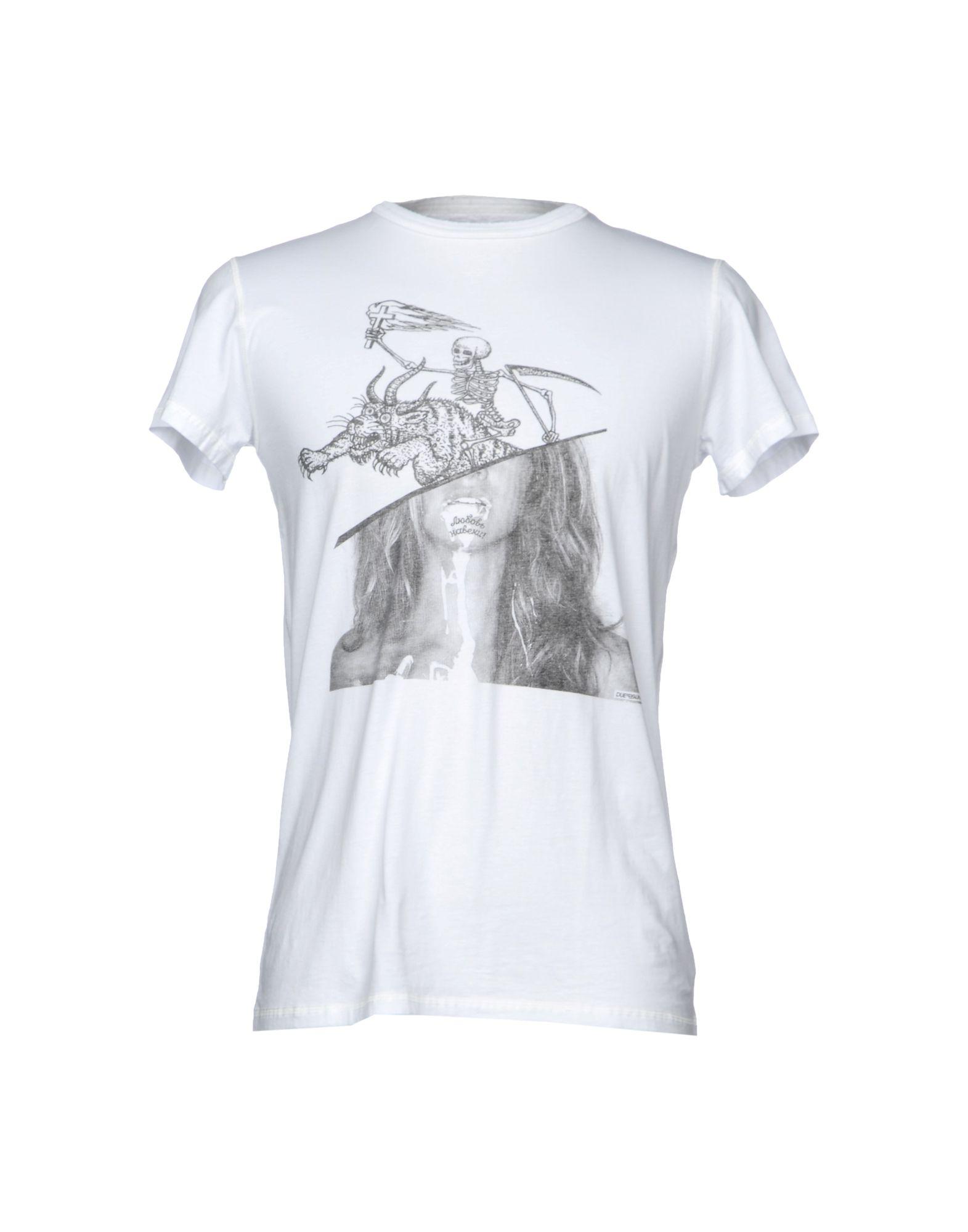 DUEPERUNO Футболка dueperuno футболка с короткими рукавами