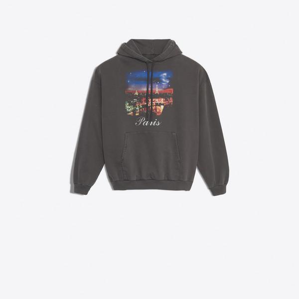 Sweatshirt à Capuche Paris