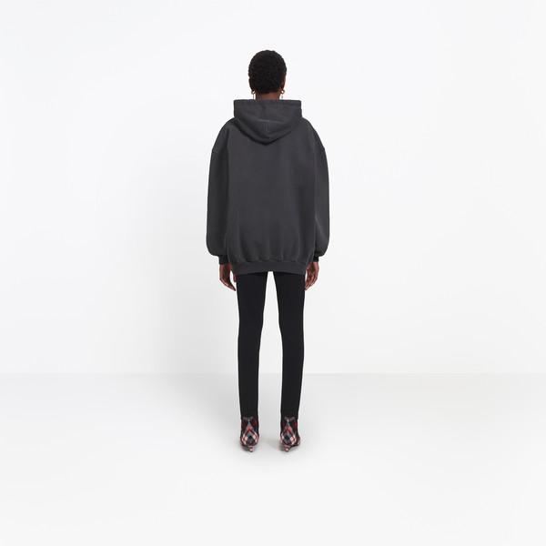 BALENCIAGA JERSEY Woman Paris Hoodie Sweater h