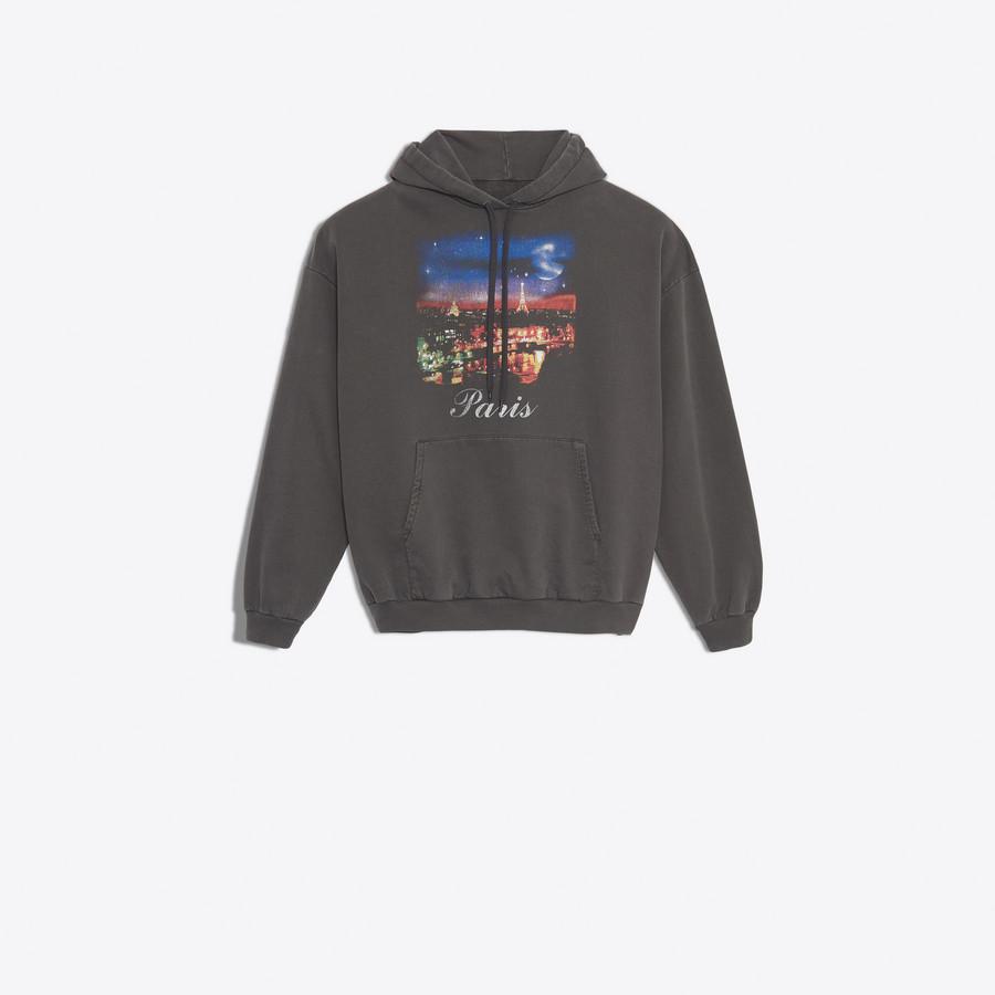 BALENCIAGA Paris Hoodie Sweater JERSEY Woman f