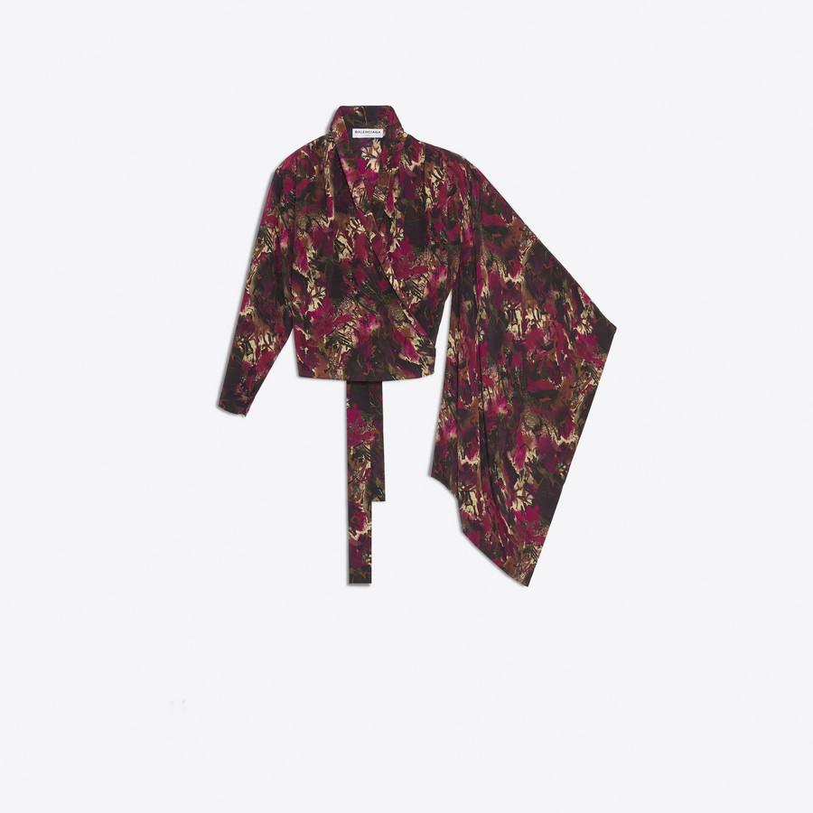 BALENCIAGA Mono Kimono Top Top Woman f