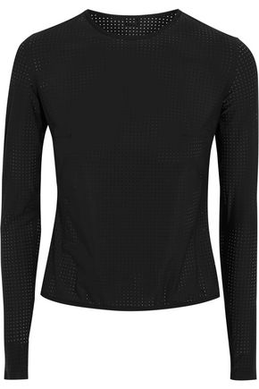 WARD WHILLAS Marlen perforated rash guard
