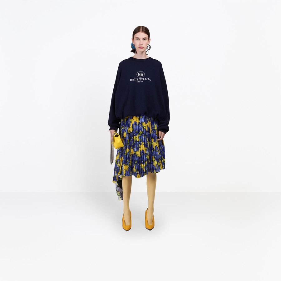 BALENCIAGA Embroidery Top Knitwear Woman g