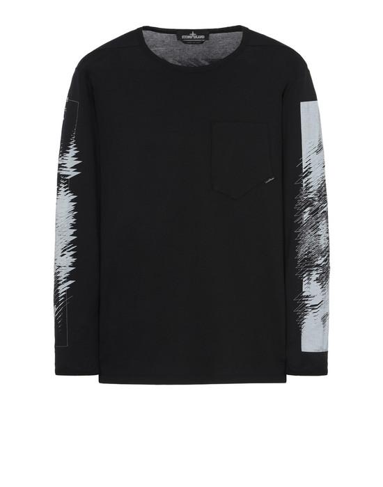 Long sleeve t-shirt 20210 PRINTED LS CATCH POCKET-T 1 (JERSEY MAKO) STONE ISLAND SHADOW PROJECT - 0