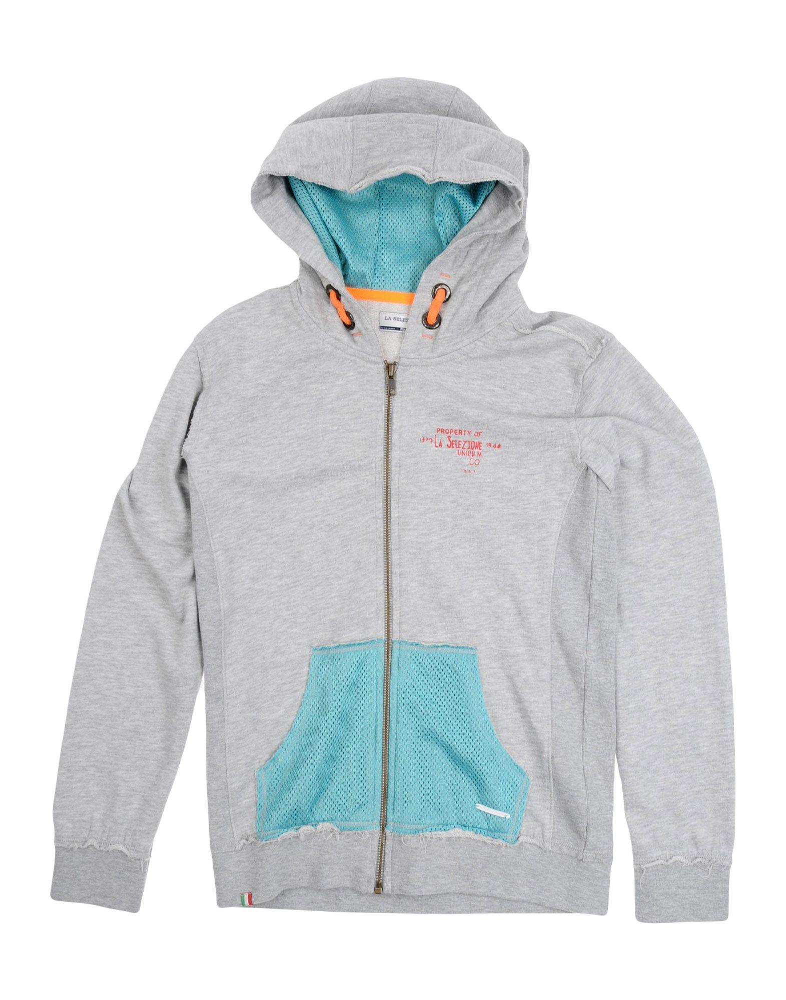 LA SELEZIONE DI GINO Jungen 9-16 jahre Sweatshirt4 grau