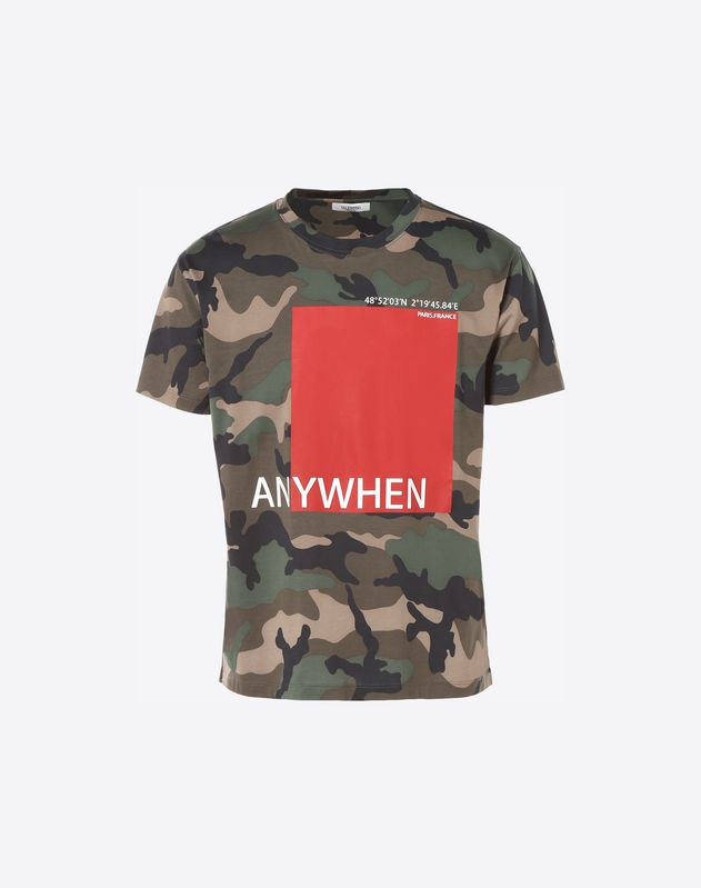 Camiseta con estampado Anywhen