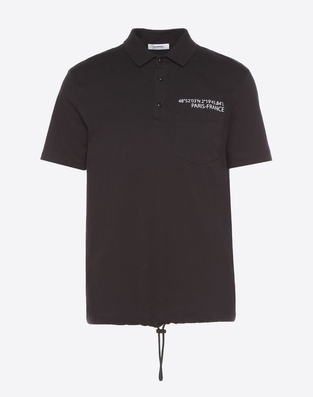 'Anywhen' print polo