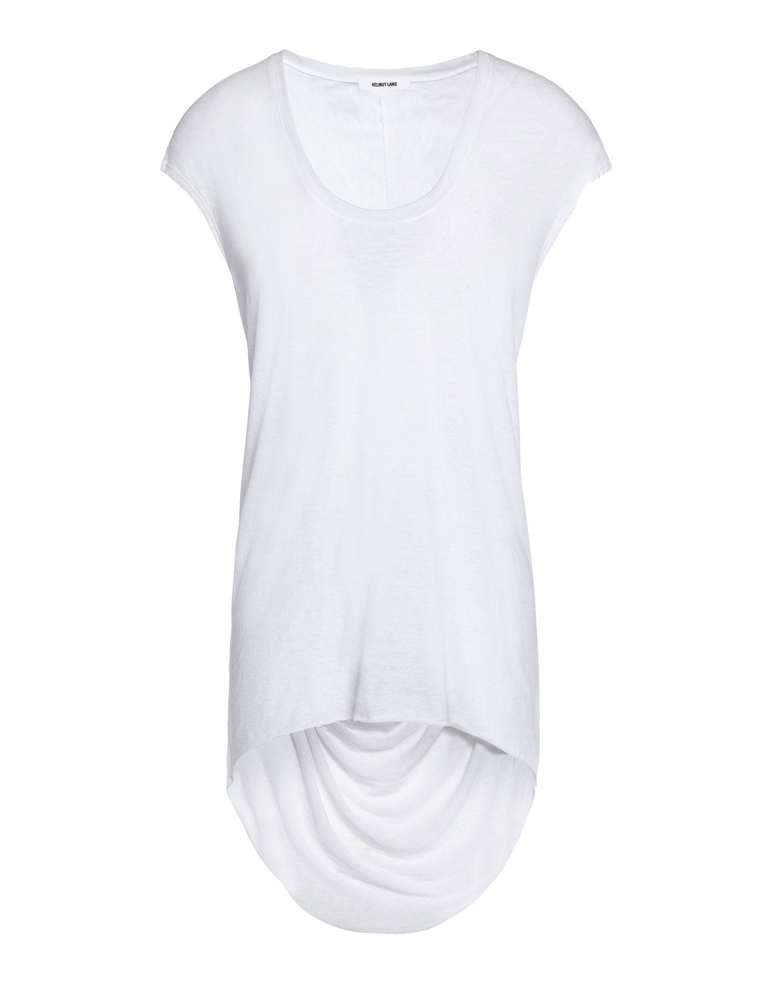 HELMUT LANG Футболка helmut lang футболка с длинными рукавами и накладками на локтях