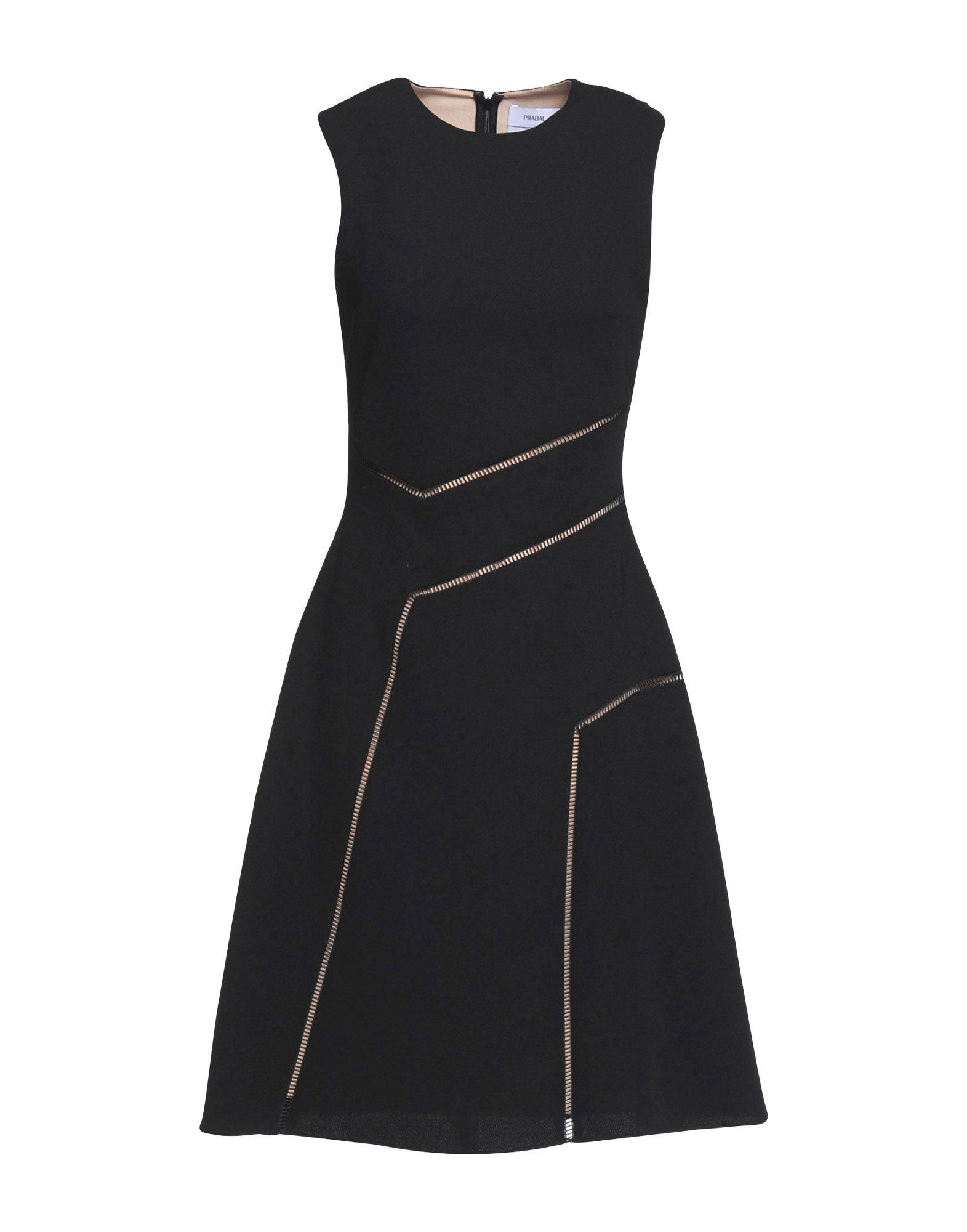 цена PRABAL GURUNG Платье до колена онлайн в 2017 году