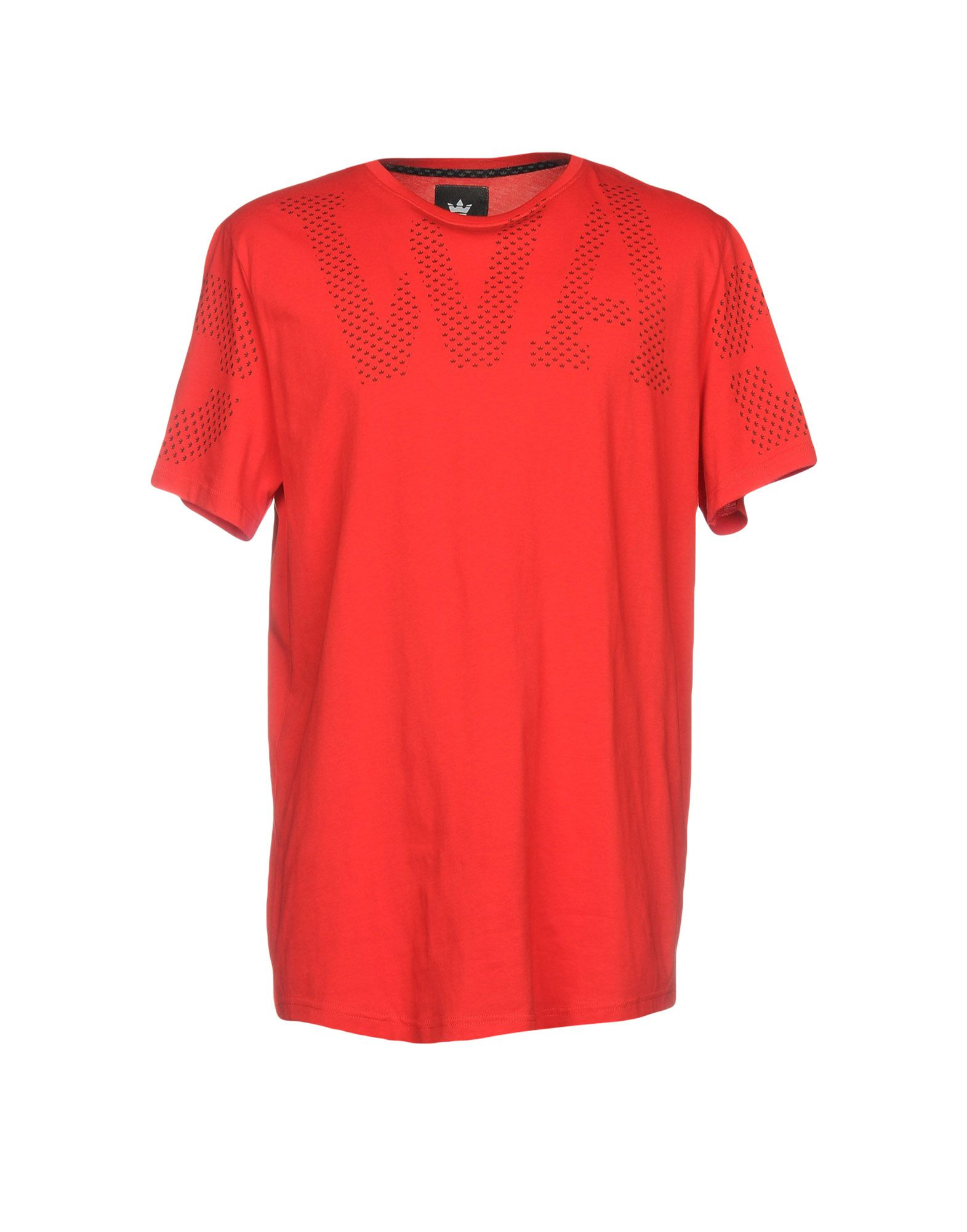 《セール開催中》SWAG メンズ T シャツ レッド S コットン 100%