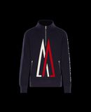 MONCLER ZIPPED JUMPER - Sweatshirts - men
