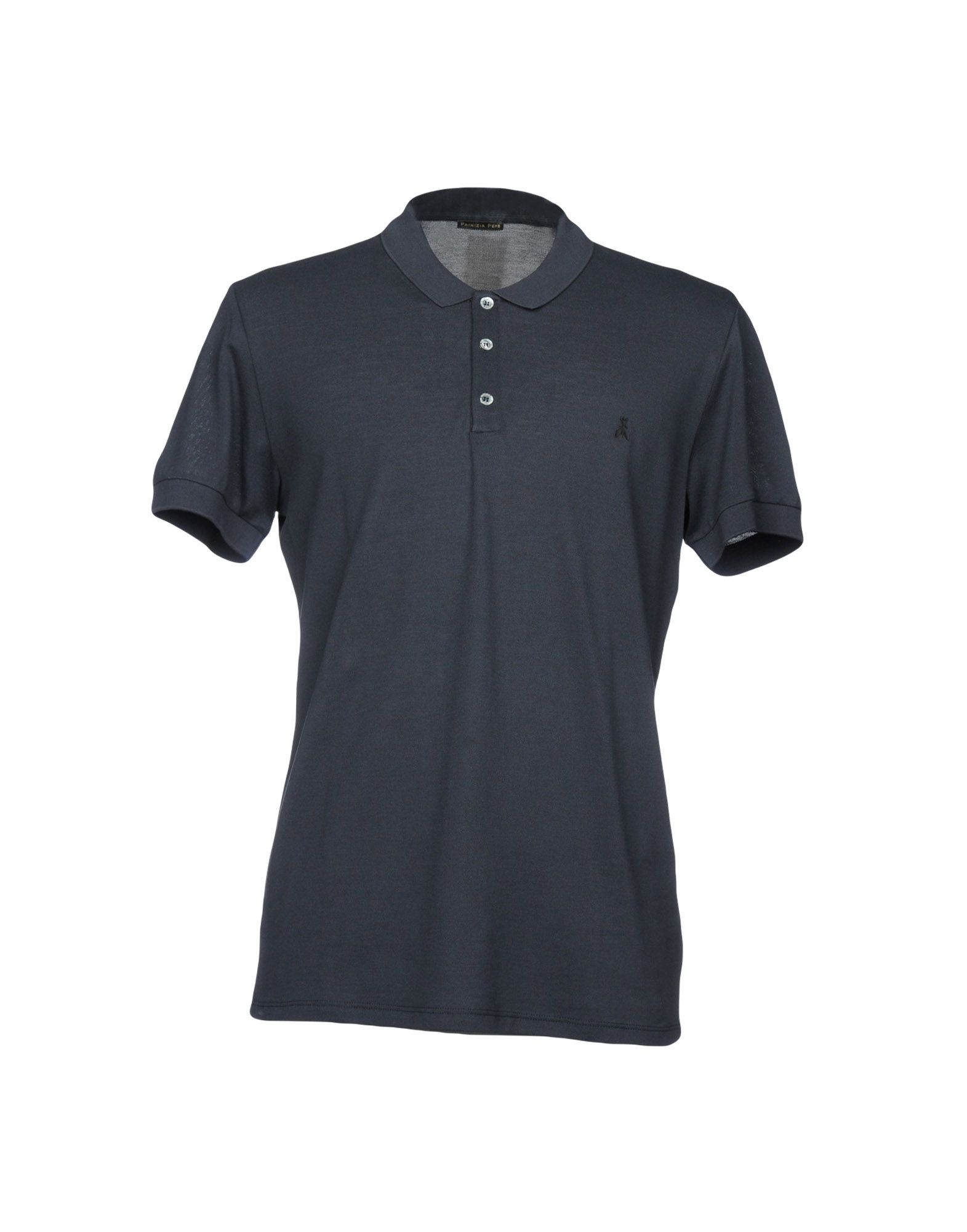 《送料無料》PATRIZIA PEPE メンズ ポロシャツ ダークブルー M コットン 100%