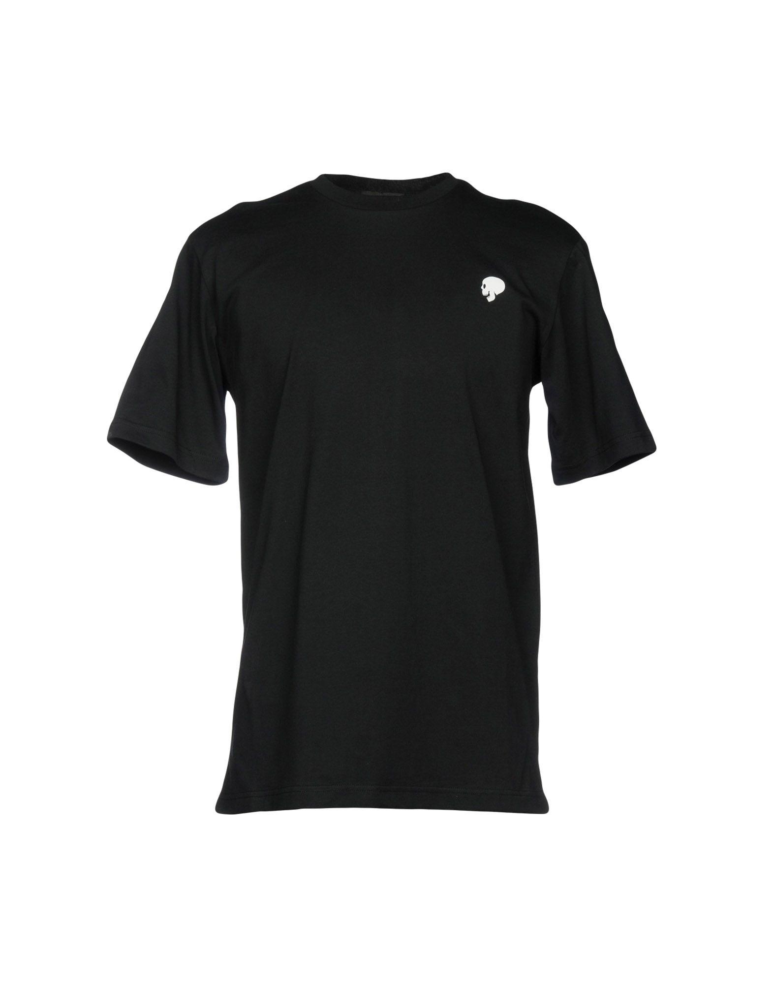 《送料無料》MARKUS LUPFER メンズ T シャツ ブラック XS コットン 100%