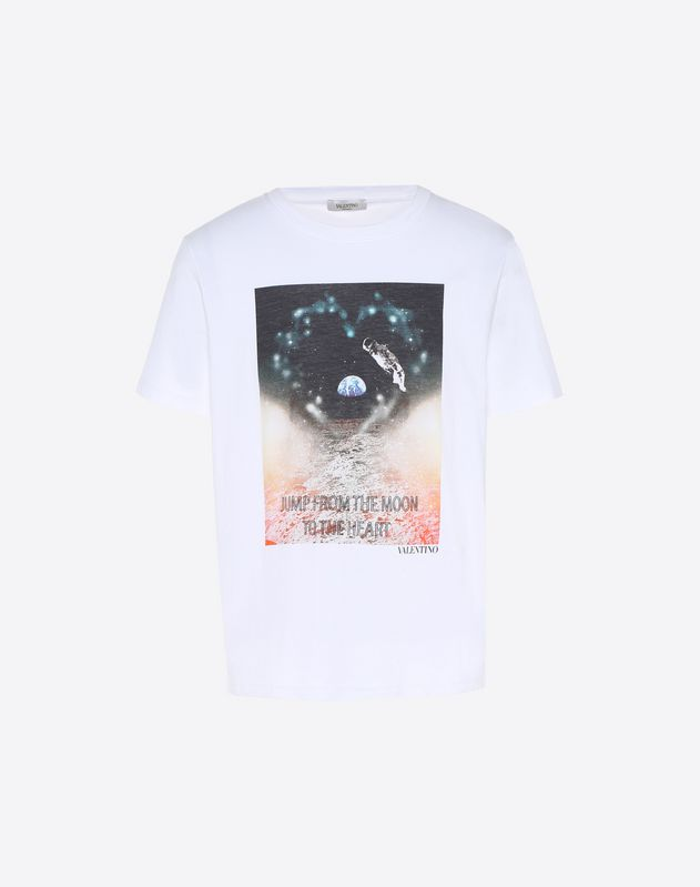 T-Shirt mit Heart-Print