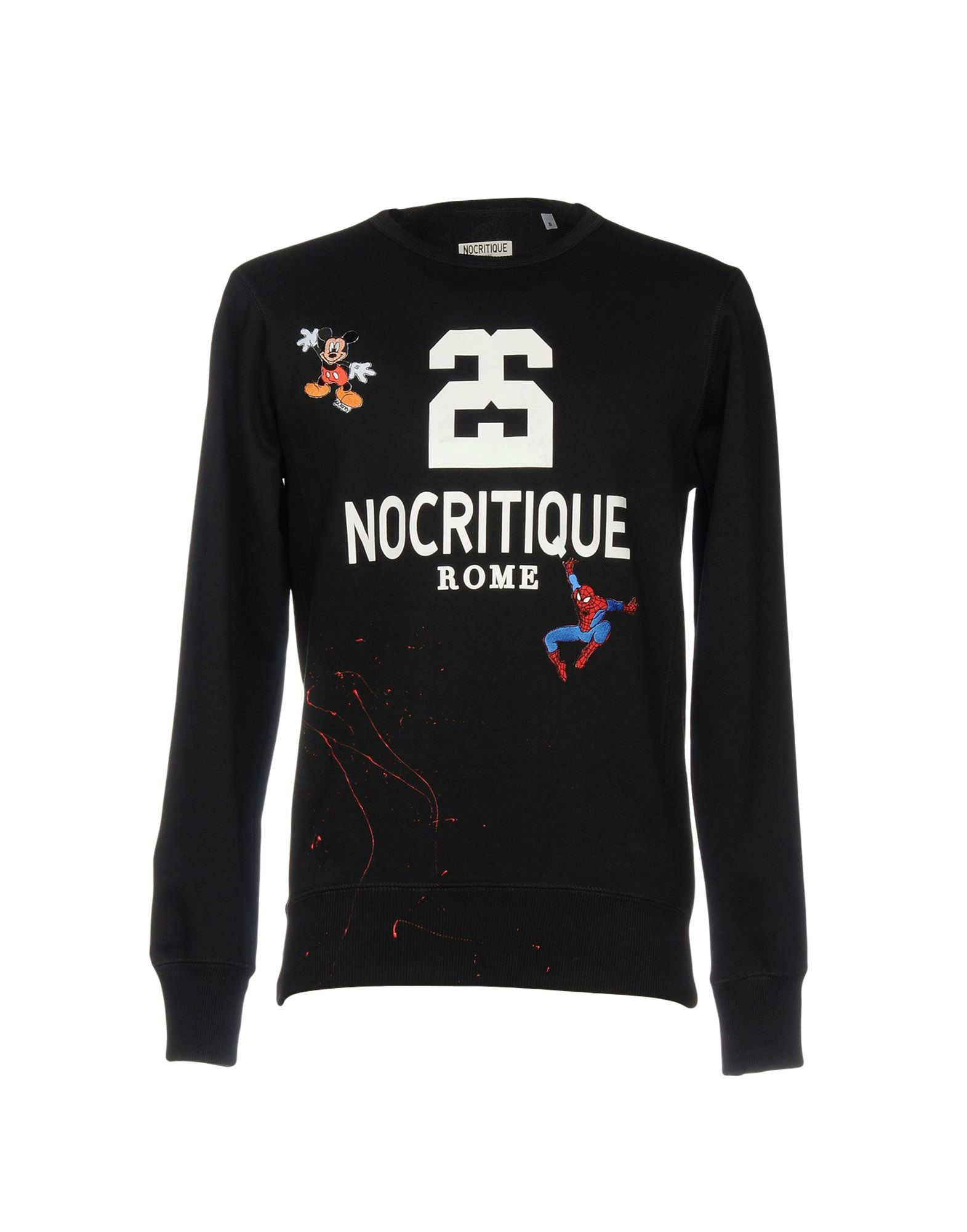 'NO CRITIQUE Rome Sweatshirts