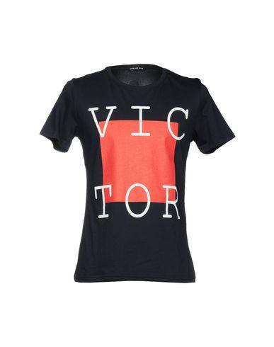 VICTOR COOL メンズ T シャツ ダークブルー M コットン 100%