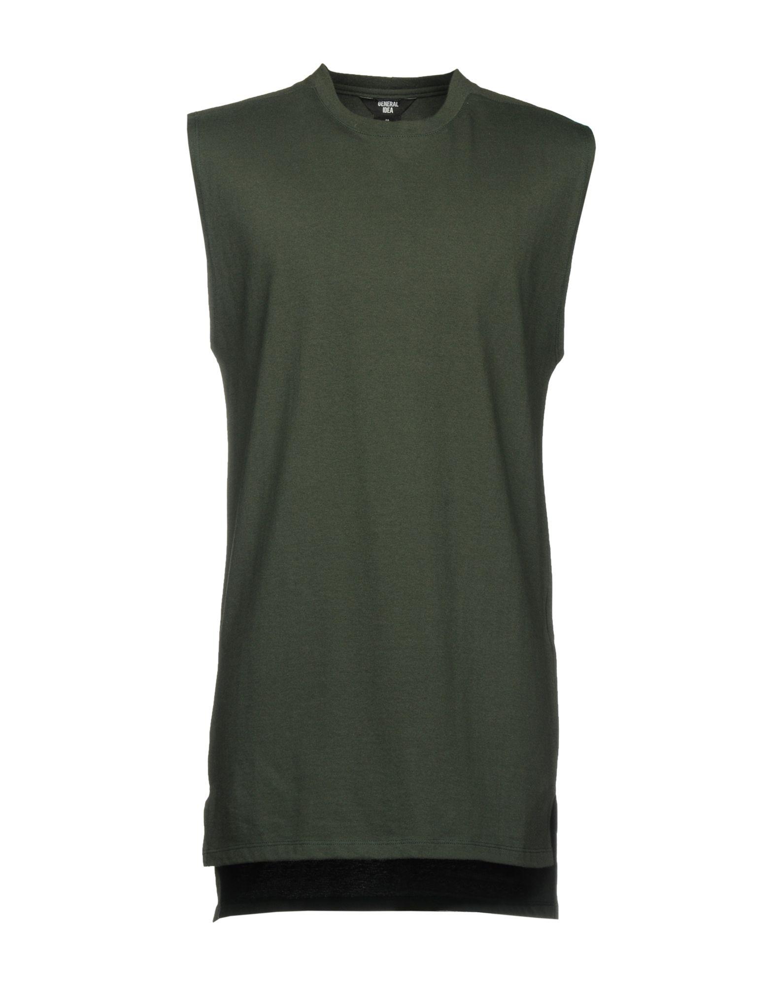 GENERAL IDEA T-Shirt in Dark Green