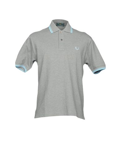 FRED PERRY メンズ ポロシャツ グレー 38 コットン 100%