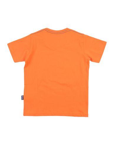 Фото 2 - Футболку оранжевого цвета