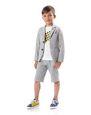LANVIN Polo - T-Shirt Childrenswear Man PRINTED T-SHIRT f