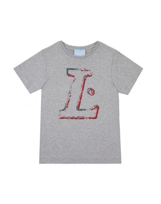 "GRAY ""L"" T-SHIRT - Lanvin"