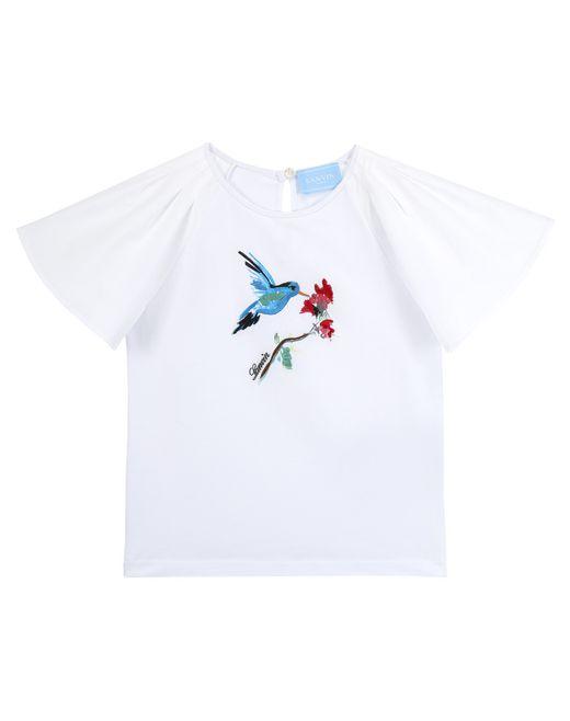 T-SHIRT CON STAMPA BIRD - Lanvin
