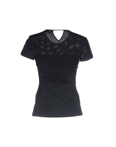 VERSACE Damen T-shirts Schwarz Größe 34 70% Polyamid 30% Elastan