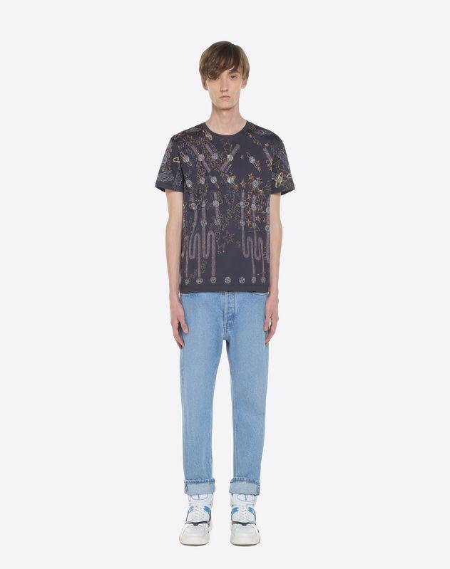 Lunar Punk print T-shirt