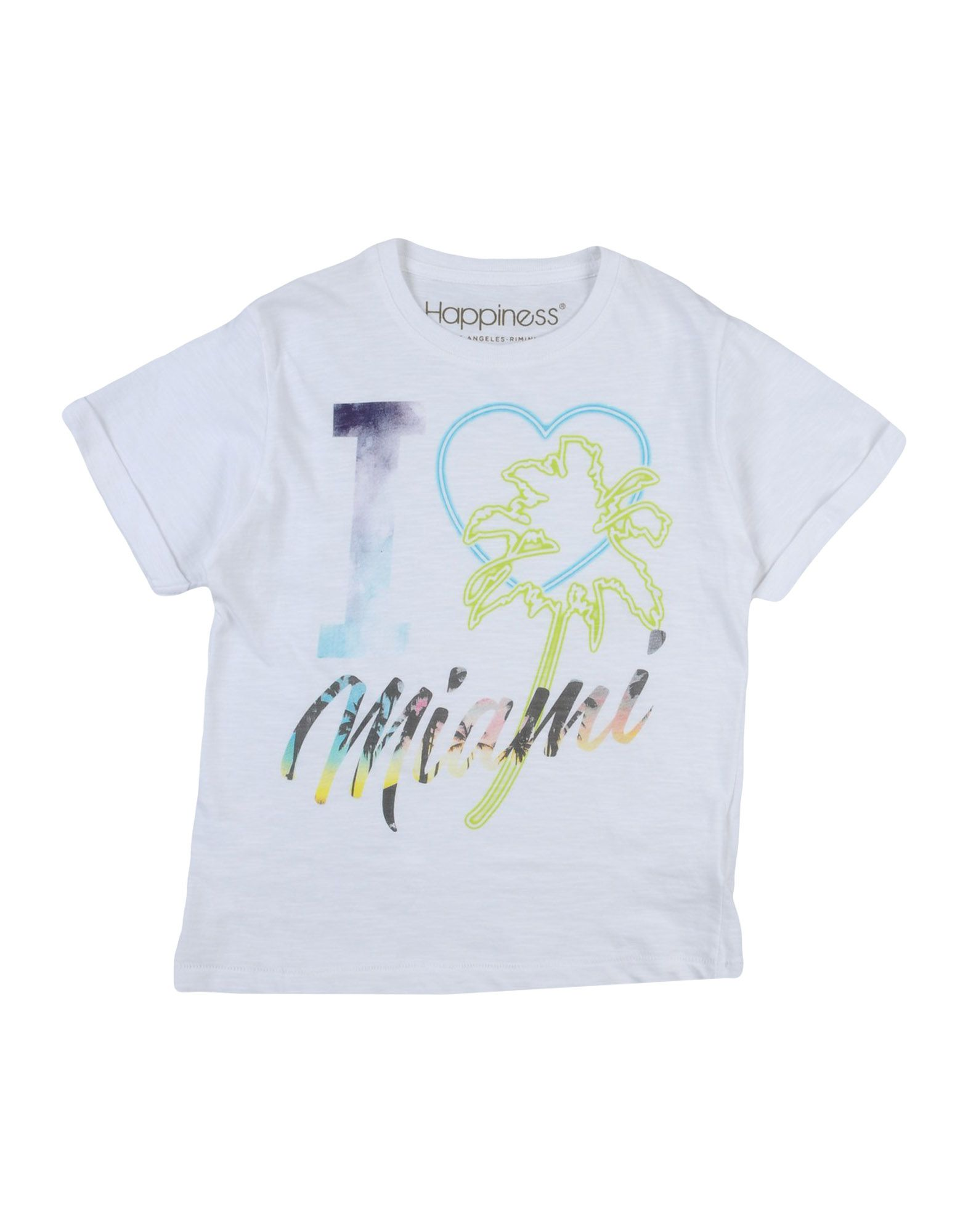 HAPPINESS | HAPPINESS T-shirts 12134070 | Goxip