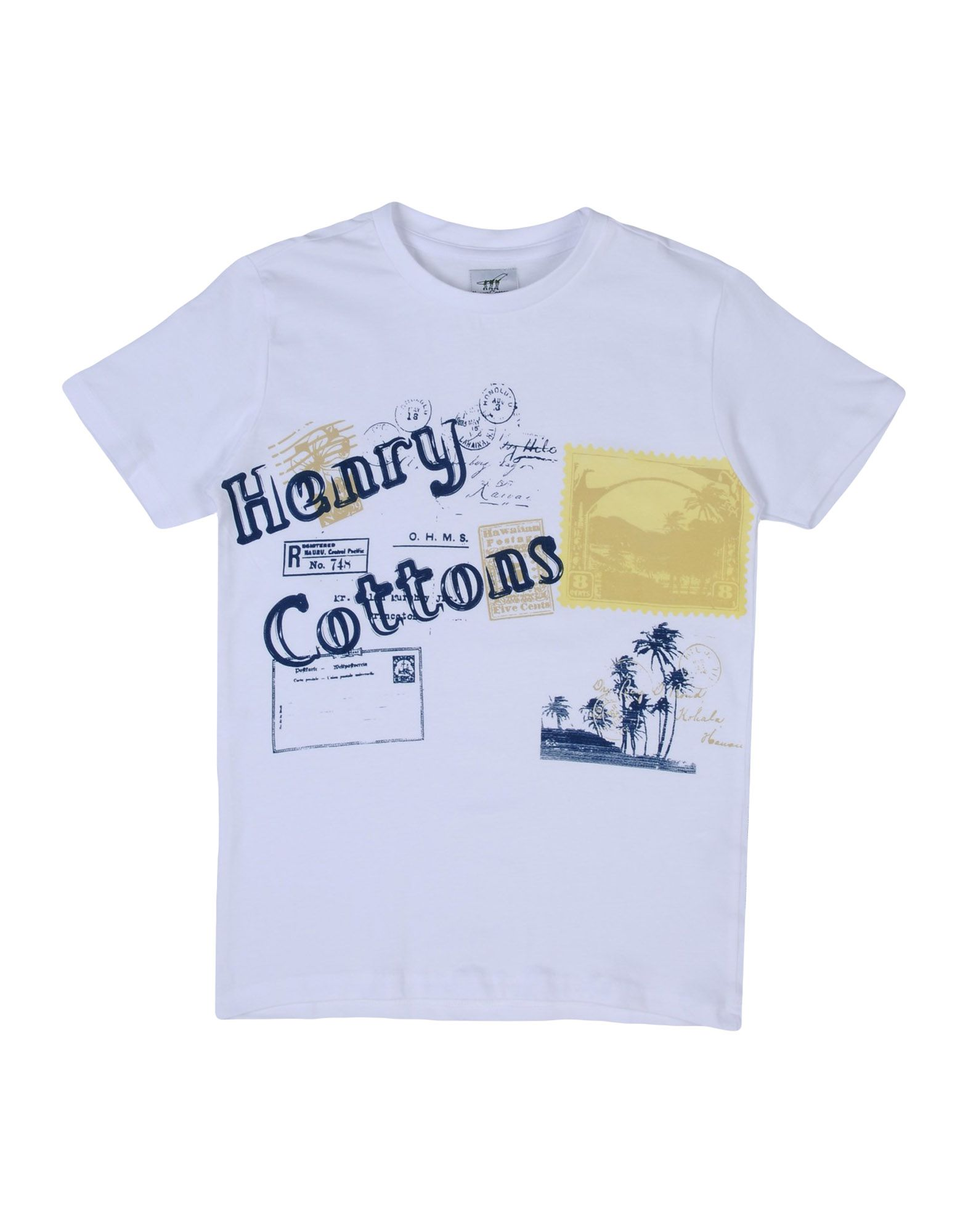 HENRY COTTON'S | HENRY COTTON'S T-shirts | Goxip
