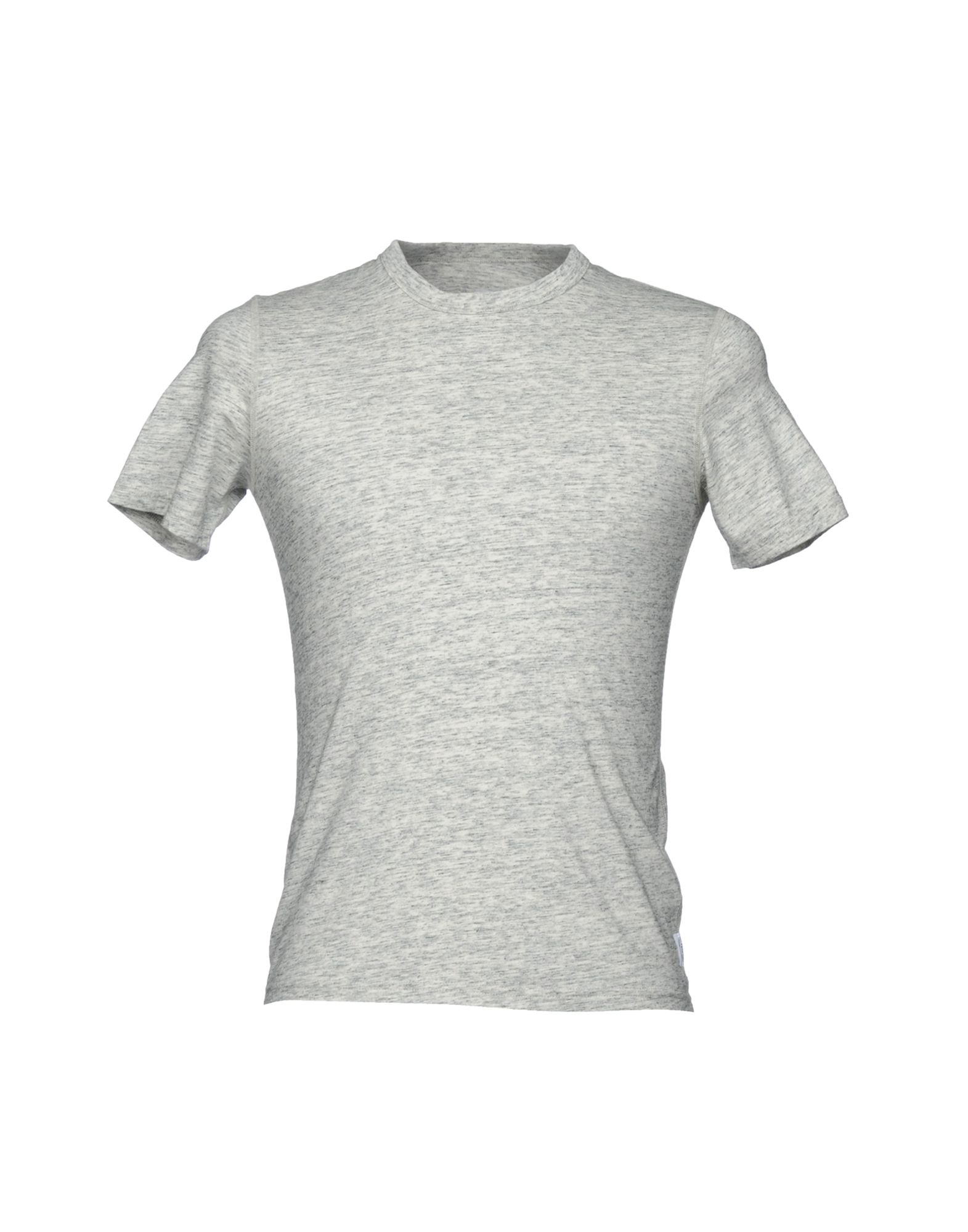 REIGNING CHAMP Футболка reigning champ gym logo ss tee heather grey