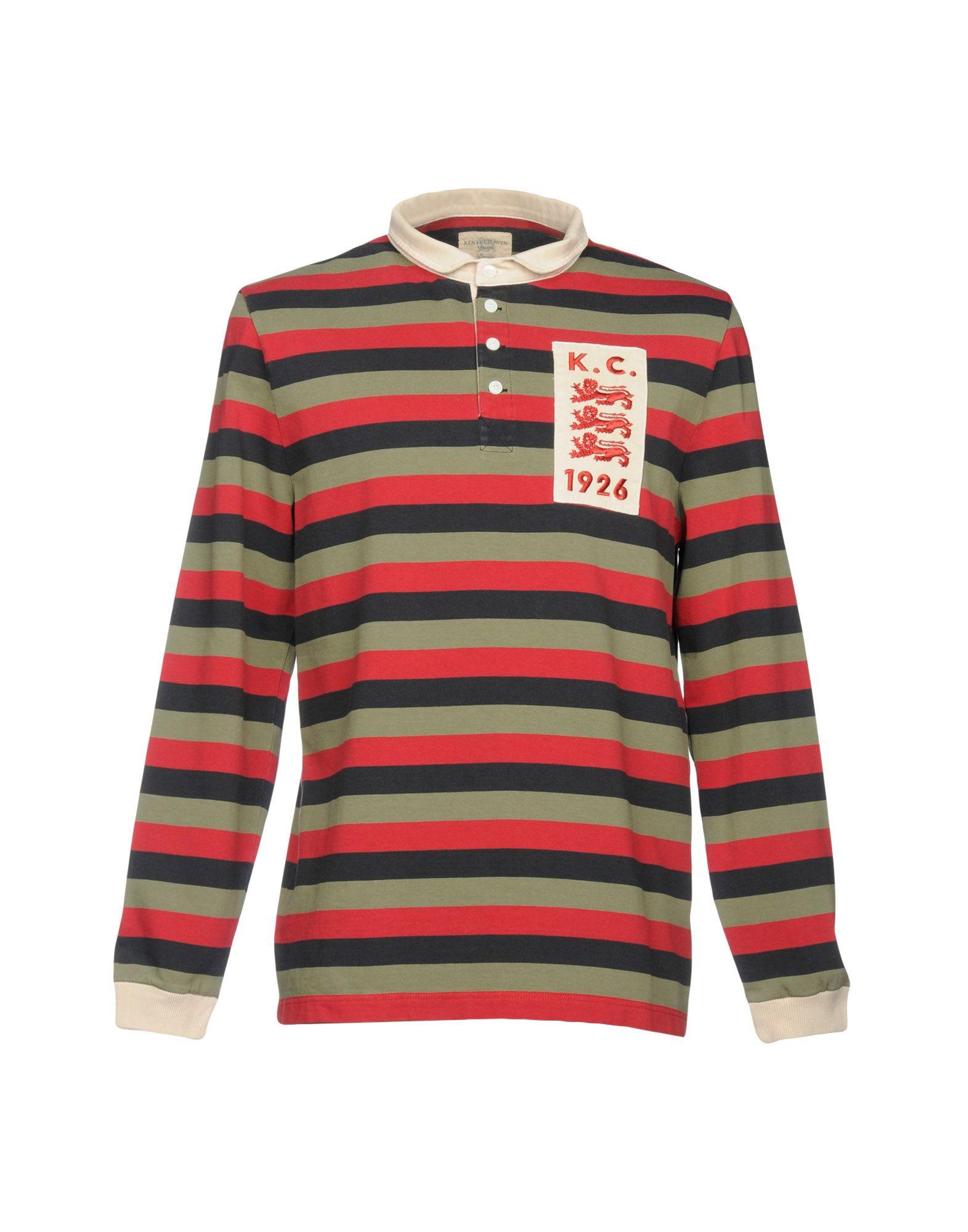 《セール開催中》KENT & CURWEN メンズ ポロシャツ ミリタリーグリーン XS コットン 100%