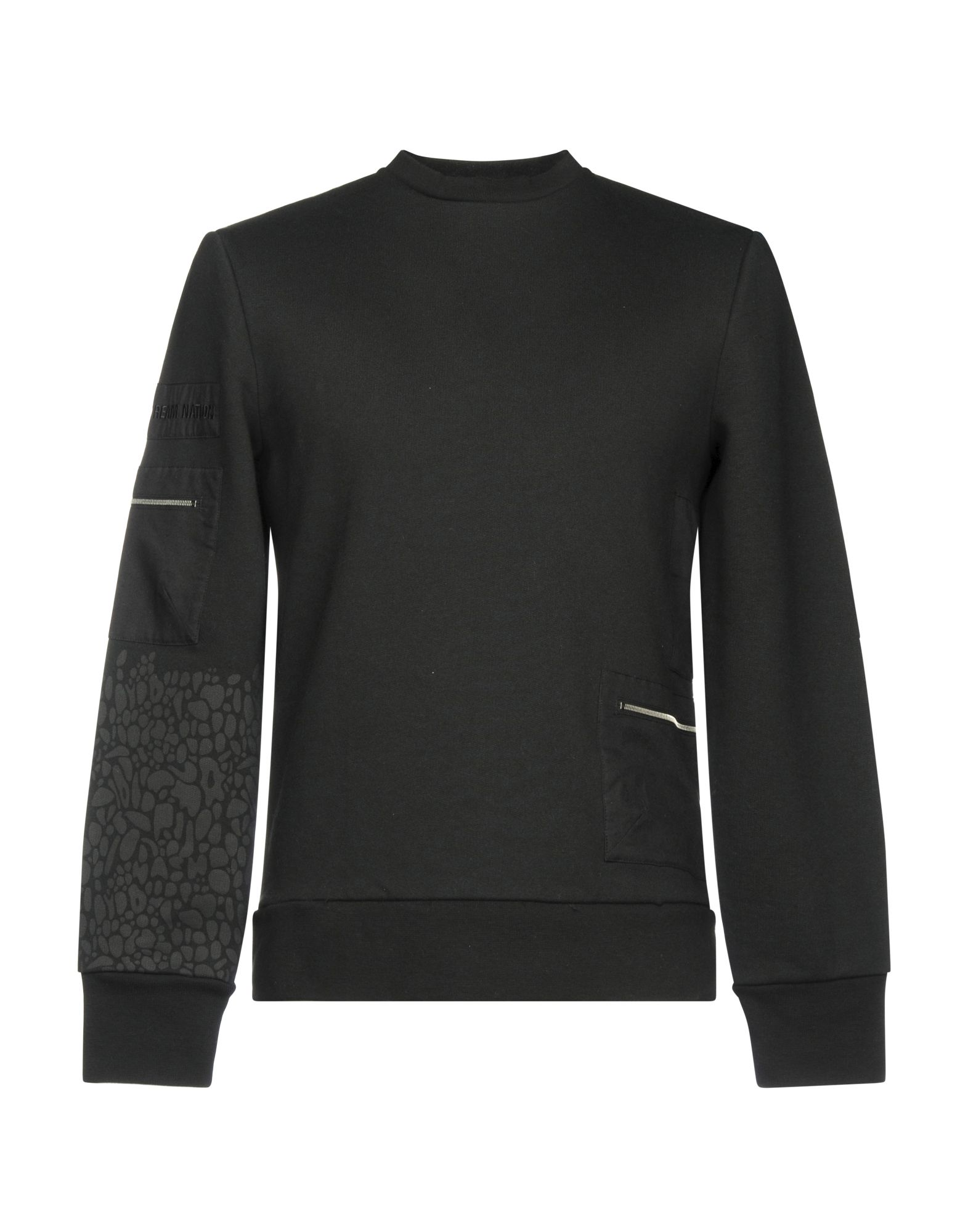TIM COPPENS Sweatshirt in Black