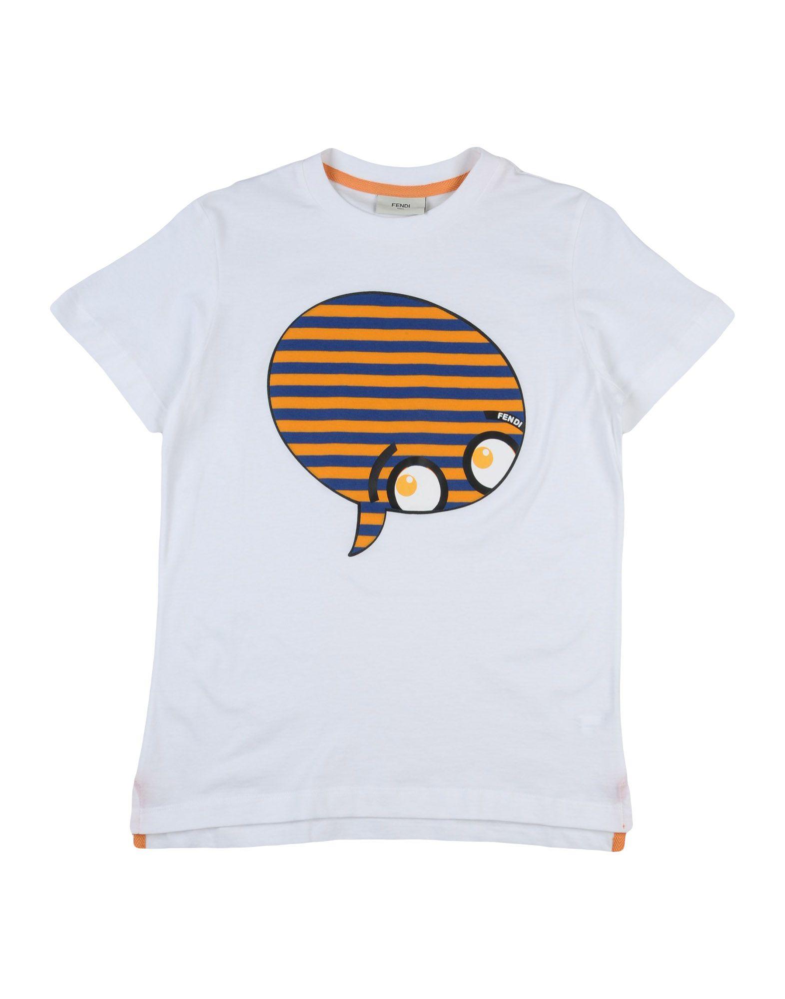 футболка детская fendi fendi 2015 2 14 FENDI Футболка
