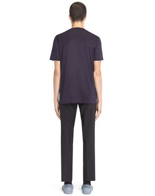 LANVIN INK-COLORED PATCH T-SHIRT Polos & T-Shirts U d