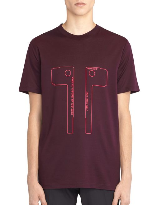 "lanvin ""keys"" t-shirt men"